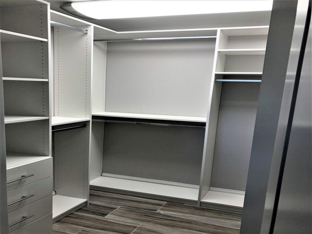 closet storage shelves